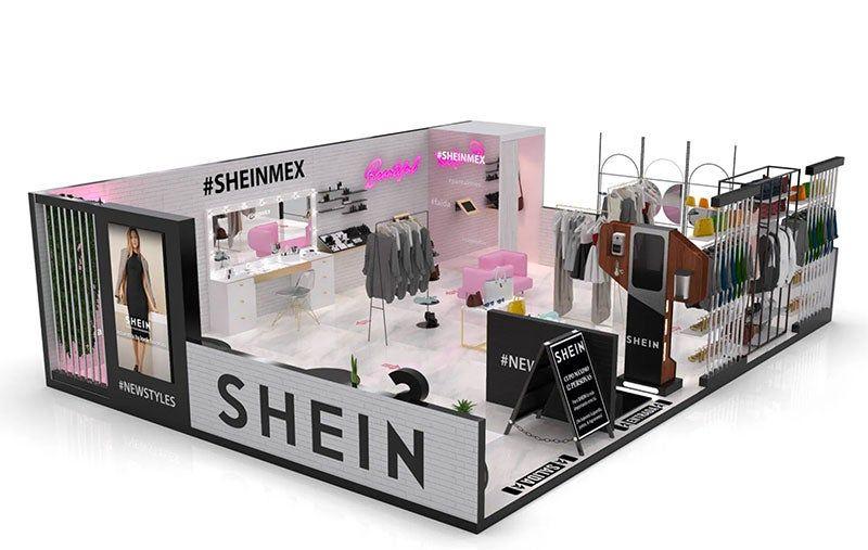 Shein popup store